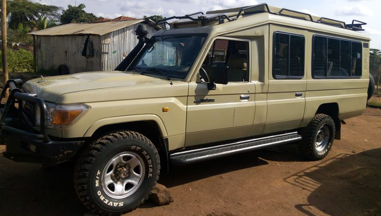 Hard Top Land Cruiser