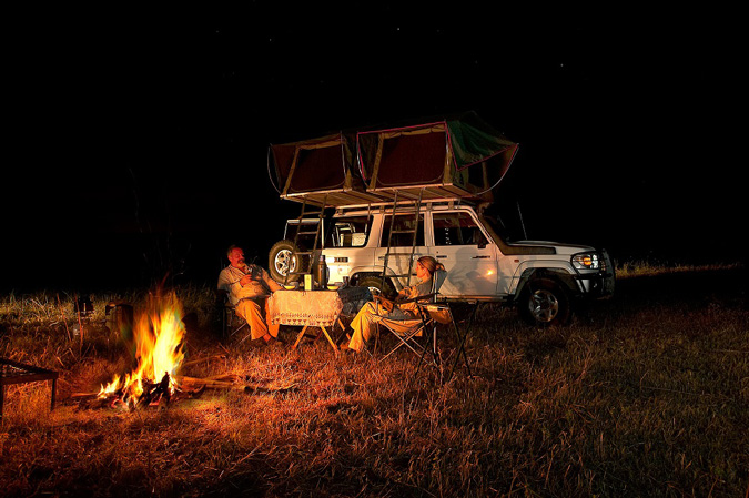 Go Camping in Botswana